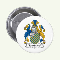 Richmond Family Crest Button