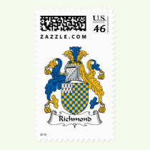 Richmond Family Crest Stamps