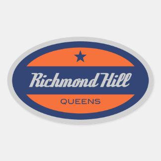 Richmond Hill Oval Sticker
