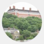 Richmond Hill Star and Garter Home London Round Sticker