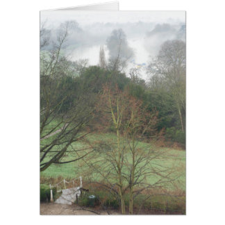 Richmond Hill Terrace and Petersham Meadows Greeting Card