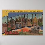 Richmond, Indiana - escenas grandes de la letra Posters