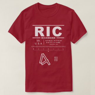 Richmond International Airport RIC T-Shirt