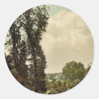 Richmond, la terraza, Londres y suburbios, Etiqueta Redonda
