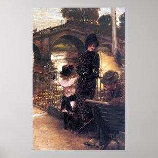 Richmond on the Thames by James Tissot Print