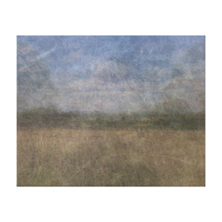 Richmond park London merged photograph Canvas Print