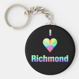 Richmond -- Pastels Keychain