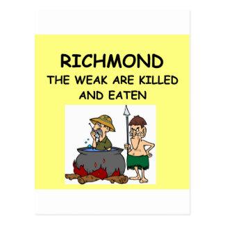RICHMOND POST CARDS