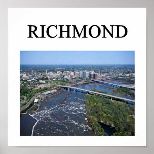 richmond poster
