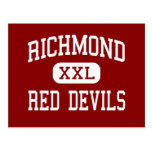 Richmond - Red Devils - High - Richmond Indiana Postcard