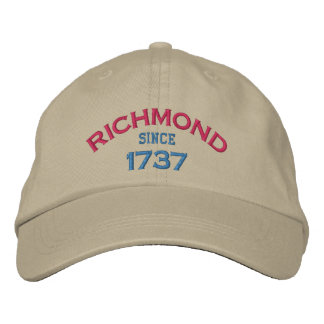 RICHMOND-SINCE 1737 EMBROIDERED BASEBALL HAT