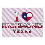 Richmond, Tejas Felicitacion