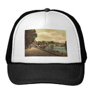 Richmond, the bridge, London and suburbs, England Mesh Hat