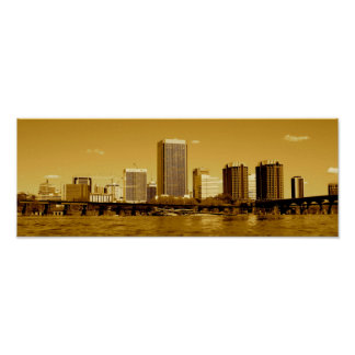 Richmond The Golden City Poster