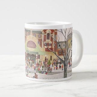 Richmond Theatre Surrey 1988 Large Coffee Mug