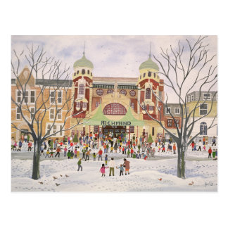 Richmond Theatre Surrey 1988 Postcard