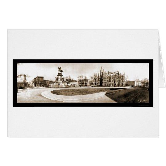 Richmond, VA Capitol Photo 1909 Card
