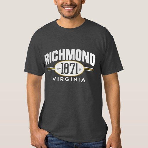 Richmond virginia 1871 city incorporated tee zazzle for T shirt printing richmond va