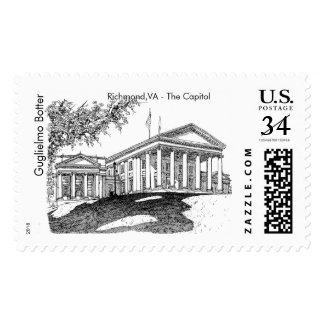 Richmond - Virginia Capitol Postage