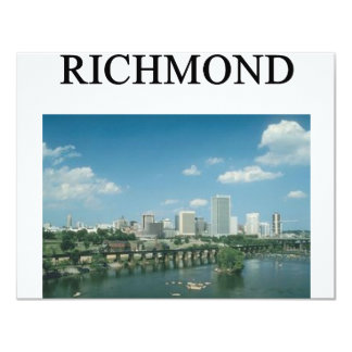RICHMOND virginia Card
