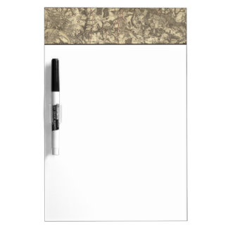 Richmond, Virginia Dry Erase Board