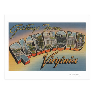 Richmond, Virginia - escenas grandes 2 de la letra Postales