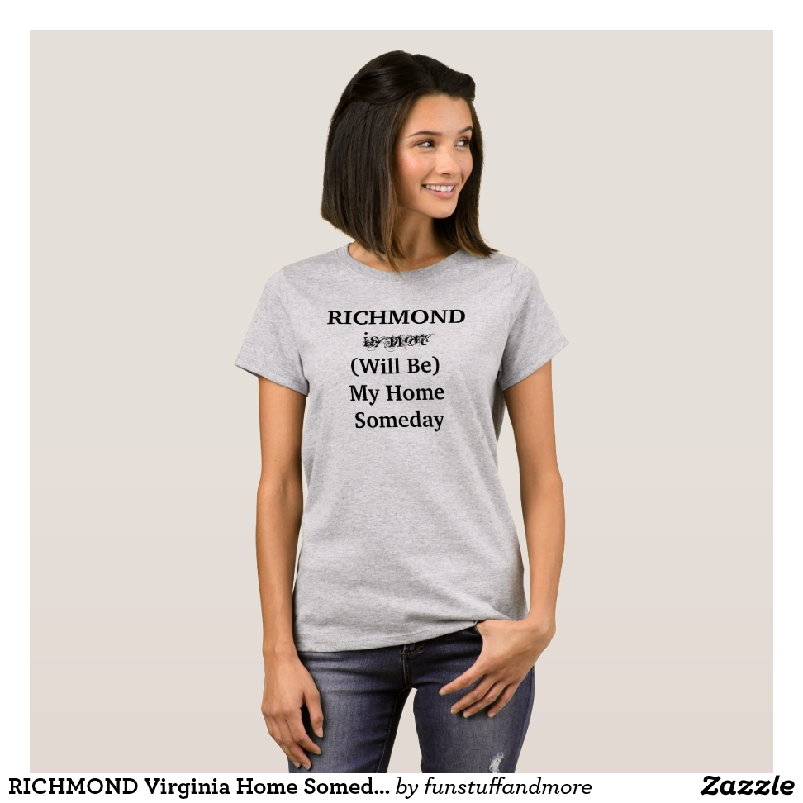 RICHMOND Virginia Home Someday Travel Location T-Shirt - Best Selling Long-Sleeve Street Fashion Shirt Designs