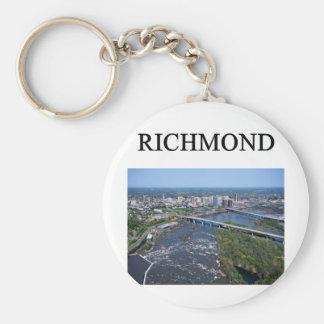 RICHMOND virginia Keychain