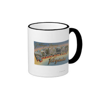 Richmond, Virginia - Large Letter Scenes 2 Mug