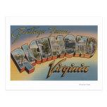 Richmond, Virginia - Large Letter Scenes 2 Post Card
