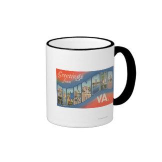 Richmond, Virginia - Large Letter Scenes 4 Mugs