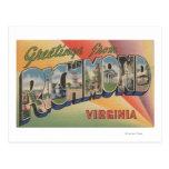 Richmond, Virginia - Large Letter Scenes Postcard