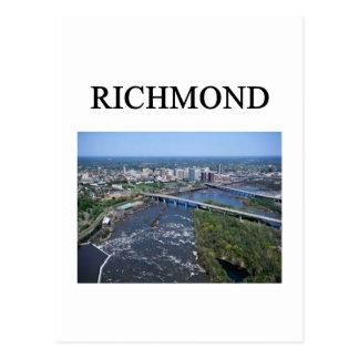 RICHMOND virginia Postcard