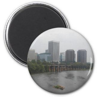 Richmond Virginia Skyline Magnets