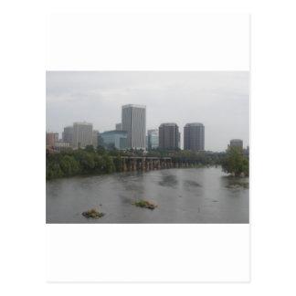 Richmond Virginia Skyline Postcard