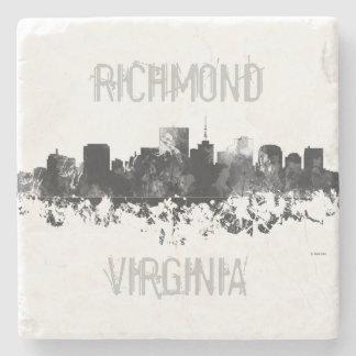 RICHMOND VIRGINIA SKYLINE STONE COASTER