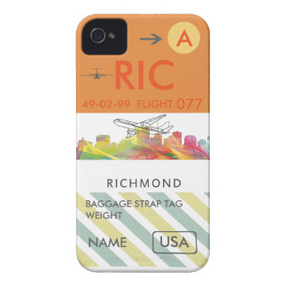 RICHMOND VIRGINIA SKYLINE WB1 - iPhone 4 Case-Mate CASE