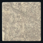 """Richmond, Virginia Stone Coaster<br><div class=""""desc"""">Richmond. By U.S. War Department ; Weyss,  John E. (186). Published by &#39;&#39;New York: N.Y. Lithographing,  Engraving &amp; Printing Co&quot;.</div>"""