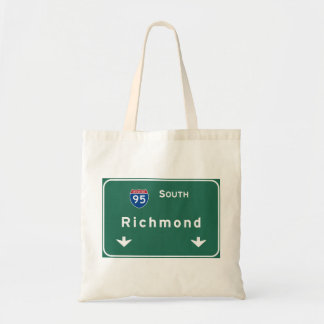 Richmond Virginia va Interstate Highway Freeway : Tote Bag