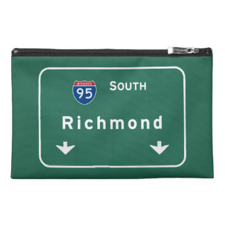 Richmond Virginia va Interstate Highway Freeway : Travel Accessory Bag