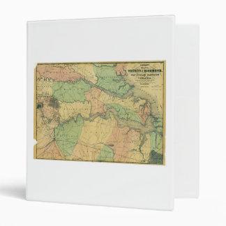 "Richmond y campaña peninsular en Virginia 1864 Carpeta 1"""