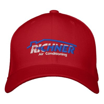 Richner Air Hat Embroidered Red Embroidered Hat