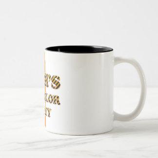 Rich's Bachelor Party Two-Tone Coffee Mug
