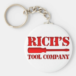Rich's Tool Company Keychain