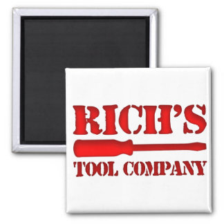 Rich's Tool Company Magnet