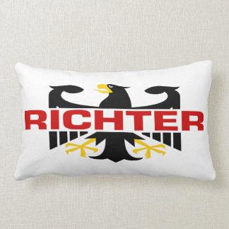 Richter Surname Throw Pillow