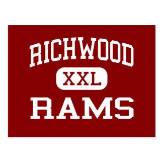 Richwood - espolones - High School secundaria - Tarjetas Postales