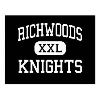 Richwoods - caballeros - alto - Peoria Illinois Postal