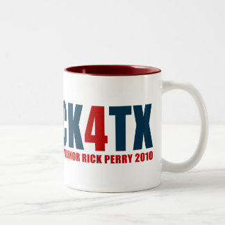 Rick 4 TX Two-Tone Coffee Mug