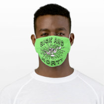 RICK AND MORTY™ | Falling Into Acid Vat Adult Cloth Face Mask